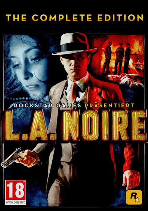 L.A. Noire: The Complete Edition - Cover / Packshot