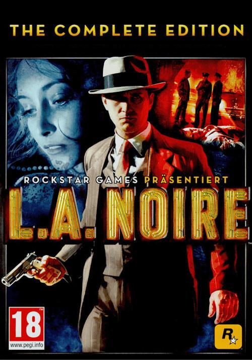 L.A. Noire: The Complete Edition - Cover / Packshot
