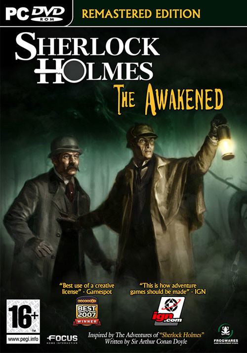 Sherlock Holmes: The Awakened- Remastered Edition - Cover
