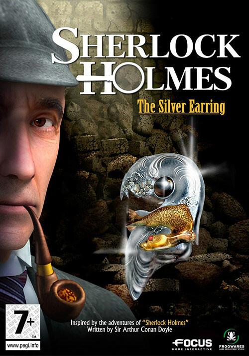 Sherlock Holmes: The Silver Earring - Cover / Packshot