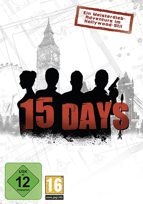 15 Days - Cover / Packshot