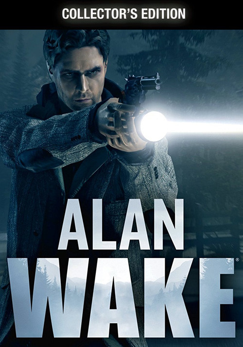 Alan Wake Collector's Edition - Cover / Packshot