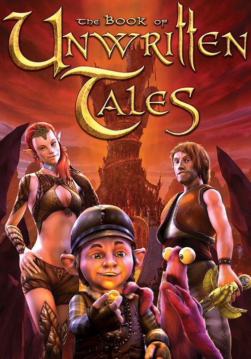 The Book Of Unwritten Tales - Cover / Packshot