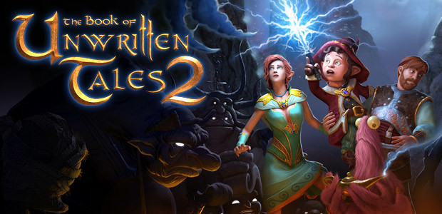 The Book of Unwritten Tales 2 - Cover / Packshot