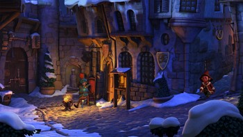 Screenshot1 - The Book of Unwritten Tales 2