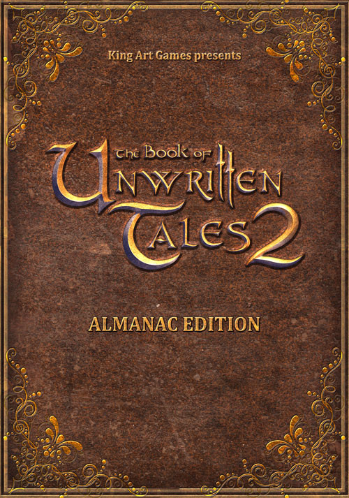 The Book of Unwritten Tales 2 - Almanac Edition - Cover