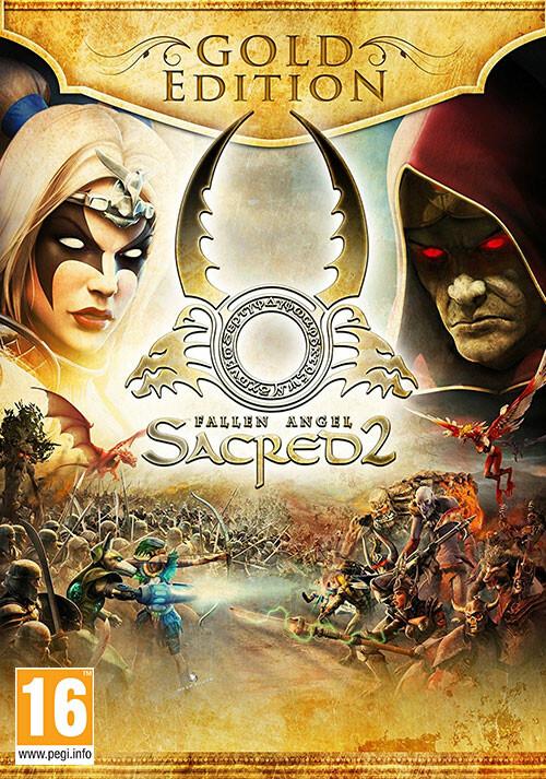 Sacred 2 Gold - Cover / Packshot