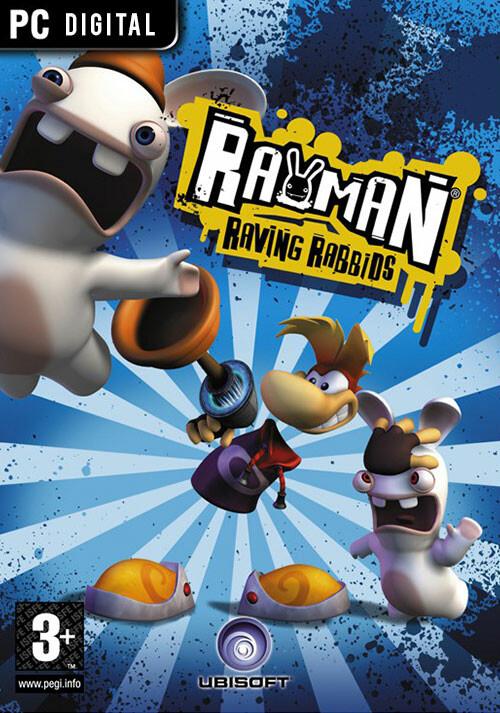 Rayman Raving Rabbids - Cover
