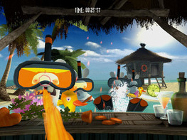 Screenshot1 - Rayman Raving Rabbids