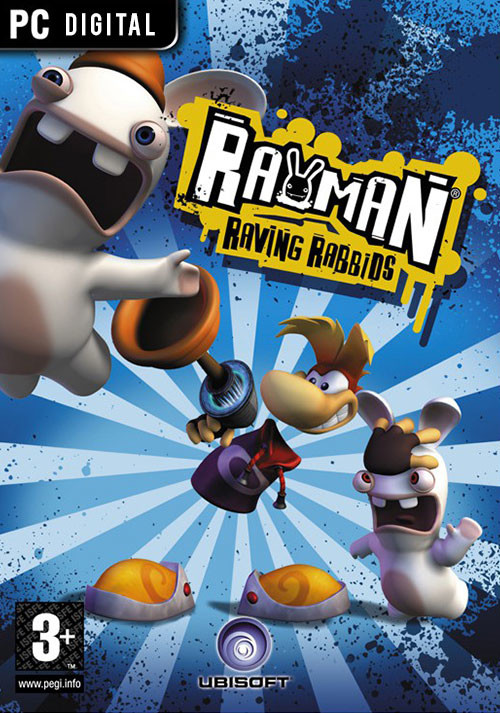 Rayman Raving Rabbids - Cover / Packshot