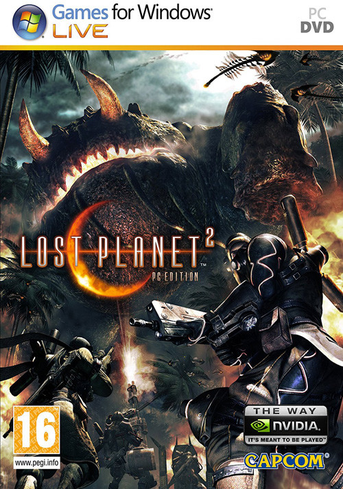 Lost Planet 2 - Packshot