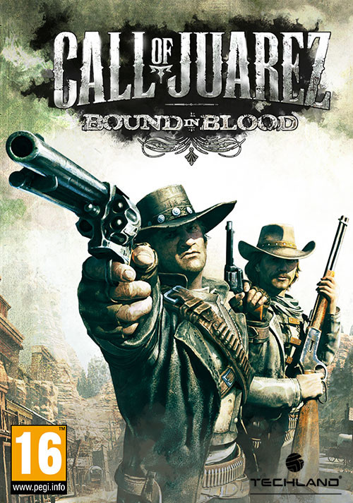 Call of Juarez: Bound in Blood - Cover