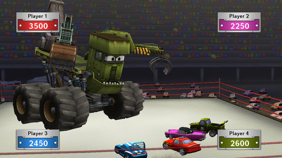 Cars Toon Monster Truck Mater Games