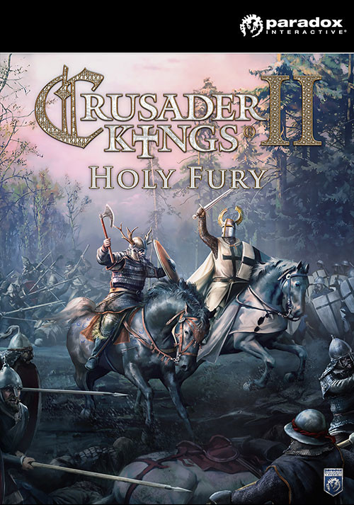 Crusader Kings II: Holy Fury - Cover / Packshot