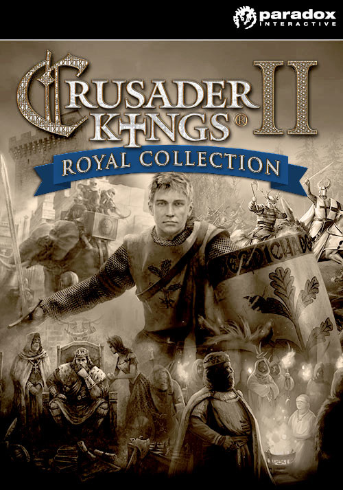 Crusader Kings II: Royal Collection - Cover