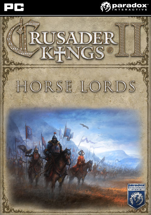 Crusader Kings II: Horse Lords - Cover