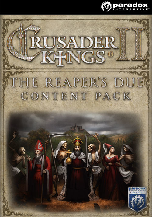 Crusader Kings II: The Reaper's Due Content Pack - Cover / Packshot