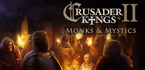 Crusader Kings II: Monks & Mystics - Cover / Packshot