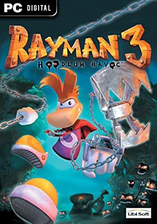 Rayman 3 - Cover