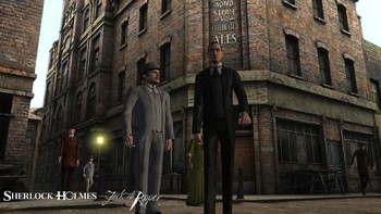 Screenshot1 - Sherlock Holmes versus Jack the Ripper