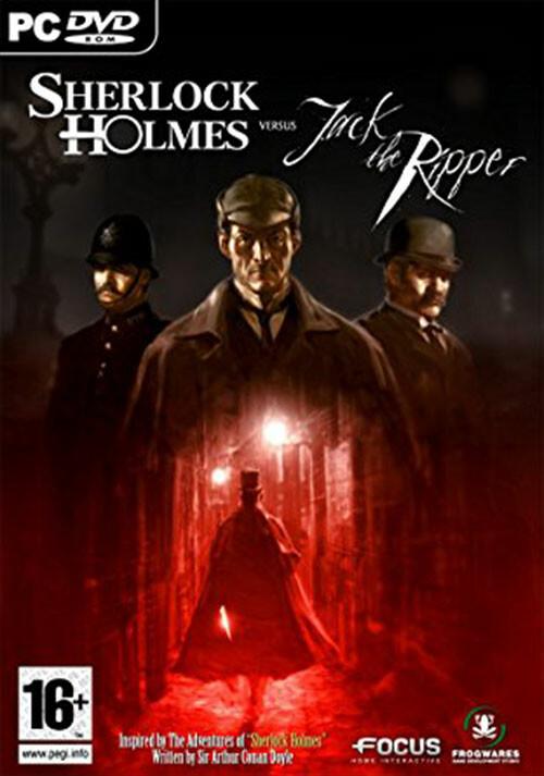 Sherlock Holmes versus Jack the Ripper - Cover / Packshot