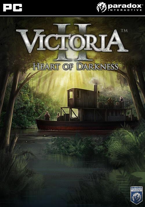 Victoria II: Heart of Darkness - Cover / Packshot