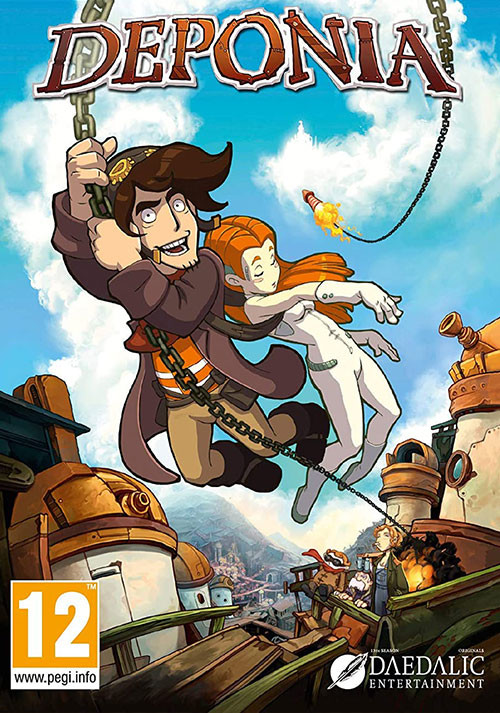 Deponia - Cover