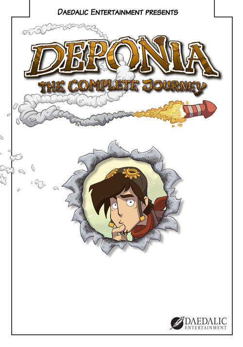Deponia: The Complete Journey - Cover / Packshot