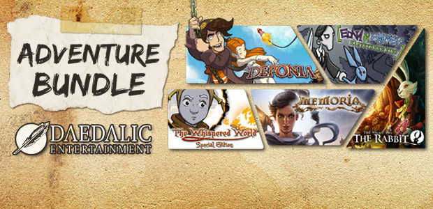 Daedalic Adventure Bundle - Cover / Packshot