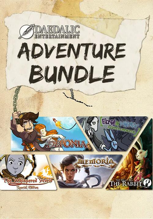 Daedalic Adventure Bundle - Cover
