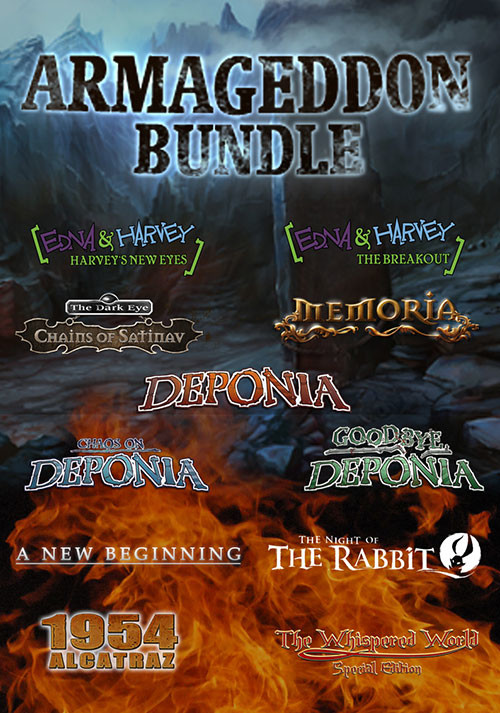 The Daedalic Armageddon Bundle - Cover / Packshot
