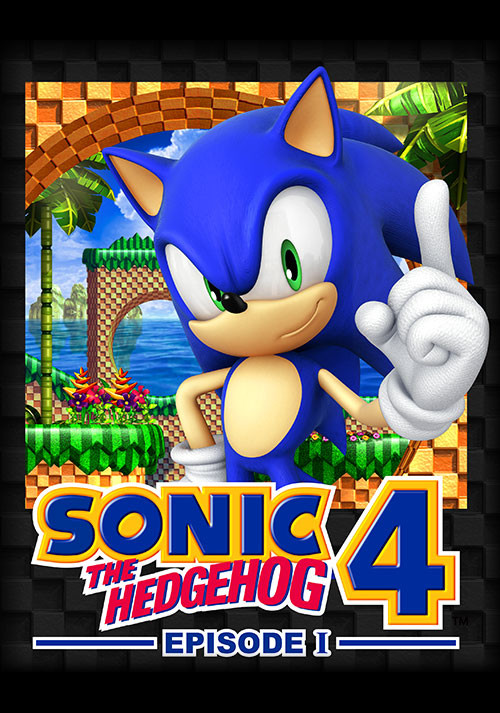 Sonic the Hedgehog 4 - Episode I - Cover / Packshot