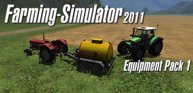 Farming Simulator 2011 - Equipment Pack 1 (Giants) - Cover / Packshot