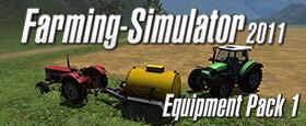 Farming Simulator 2011 - Equipment Pack 1 (Steam)