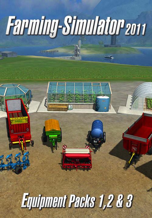 Farming Simulator 2011 - DLC Pack (Steam) - Cover / Packshot