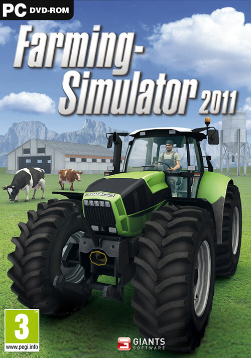 Farming Simulator 2011 (Giants) - Cover / Packshot