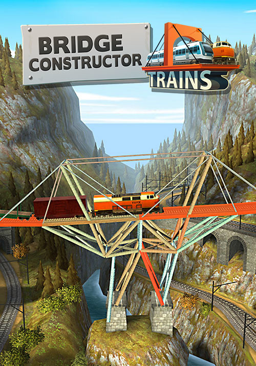 Bridge Constructor Trains - Expansion Pack - Cover