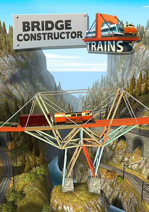 Bridge Constructor Trains - Expansion Pack - Cover / Packshot