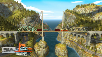 Screenshot1 - Bridge Constructor Trains - Expansion Pack