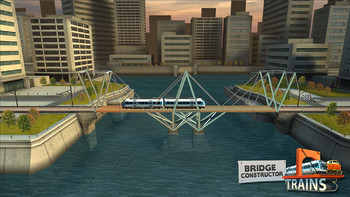 Screenshot2 - Bridge Constructor Trains - Expansion Pack
