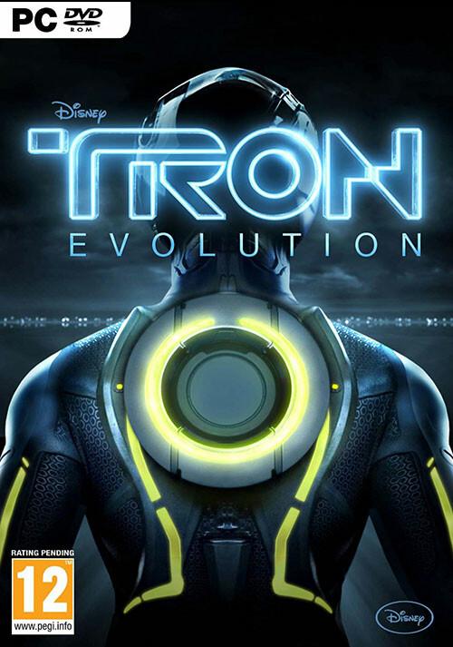 TRON: Evolution - Cover