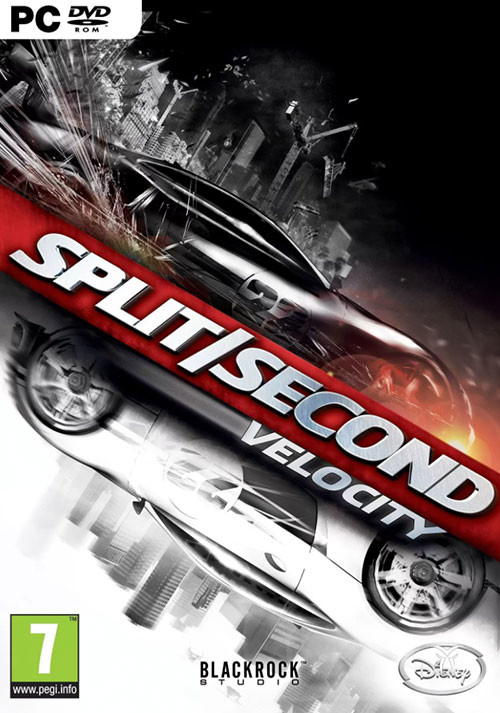 Split/Second: Velocity - Cover