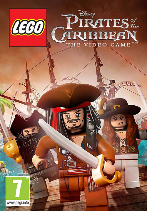 LEGO Pirates Of The Caribbean - Cover