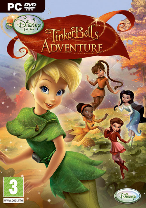 Disney Fairies: TinkerBell's Abenteuer - Cover