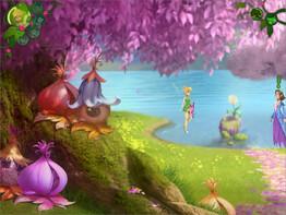 Screenshot1 - Disney Fairies: TinkerBell's Abenteuer