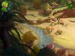 Screenshot2 - Disney Fairies: TinkerBell's Abenteuer