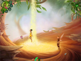 Screenshot3 - Disney Fairies: TinkerBell's Abenteuer
