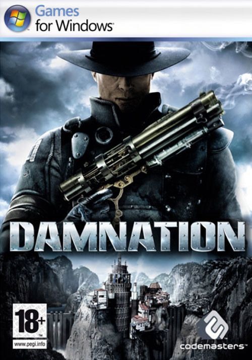 Damnation - Cover / Packshot