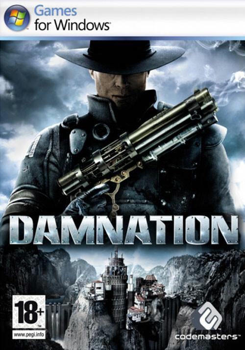 Damnation - Cover / Packshot