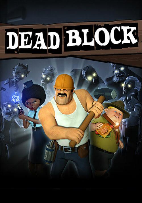 Dead Block - Cover